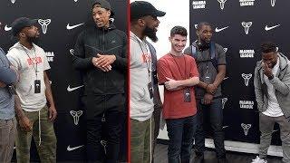 Asking KEVIN HART 'SHORT' Questions With Demar Derozan NBA SUPERSTAR!