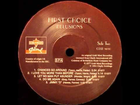 First Choice - Let No Man Put Asunder (Dj ''S'' Bootleg Extended Dance Re-Mix)