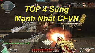 TOP 4 SÚNG Mạnh Nhất ĐỘT KÍCH | TQ97