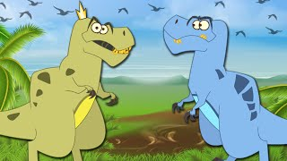 I'm A Dinosaur - Adventures Of T-Rex 🦖 Dangerous Carnivorous Dinosaurs ⚠️ Cartoon For Kids