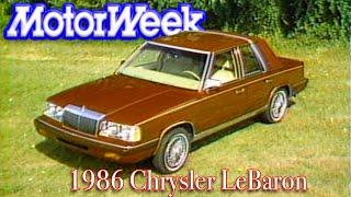 1986 Chrysler LeBaron | Retro Review