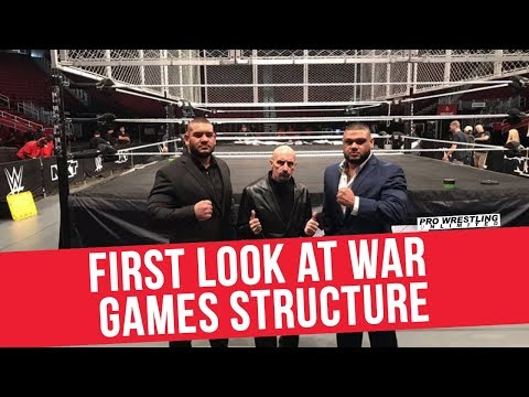 First Look At War Games Structure
