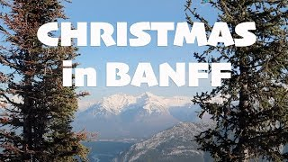 Christmas in Banff with children