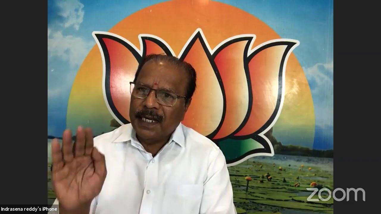 Nallu Indrasena Reddy addresses media //25-07-2020
