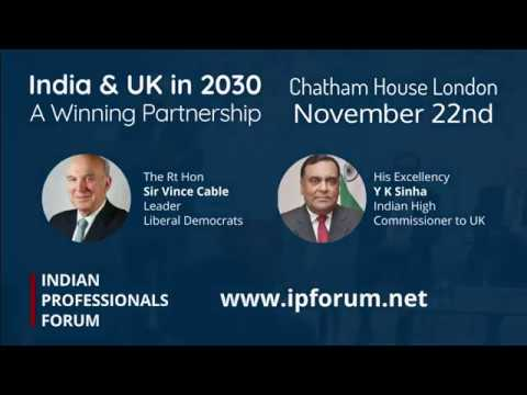 Brexit and Beyond: A UK-India Winning Partnership Panel Discussion