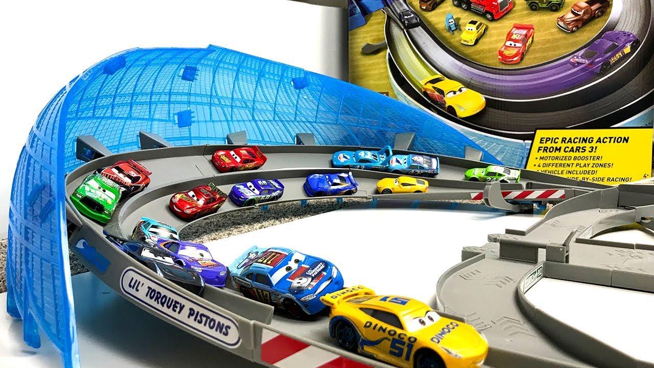 9c84cb5449 Carros de Carrera para niños - Pista de Coches CARS 3 ULTIMATE FLORIDA  SPEEDWAY