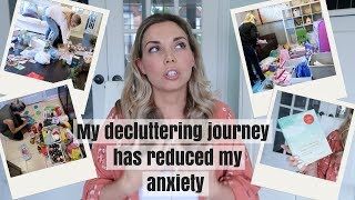 DECLUTTERING AND MENTAL HEALTH | KONMARI & A LARGE FAMILY | Nesting Story
