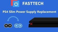 How to fix a PS4 Slim that's not turning on / No Power - Power Supply Replacement (CUH-2015/2115)