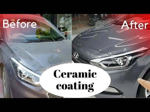 Ceramic Nano Coating Done | My Views