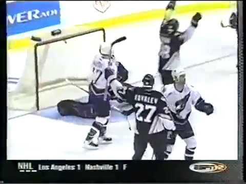 Alex Kovalev and Robert Lang wow goal vs Capitals (2001)