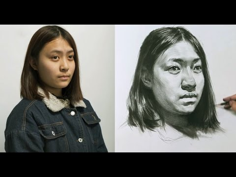 Girl Portrait Drawing Classes