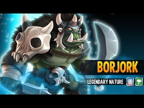 Borjork Premiere  - Monster Legends