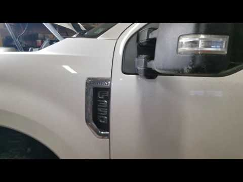 Finding uplifter switches pigtails on 2017 f350