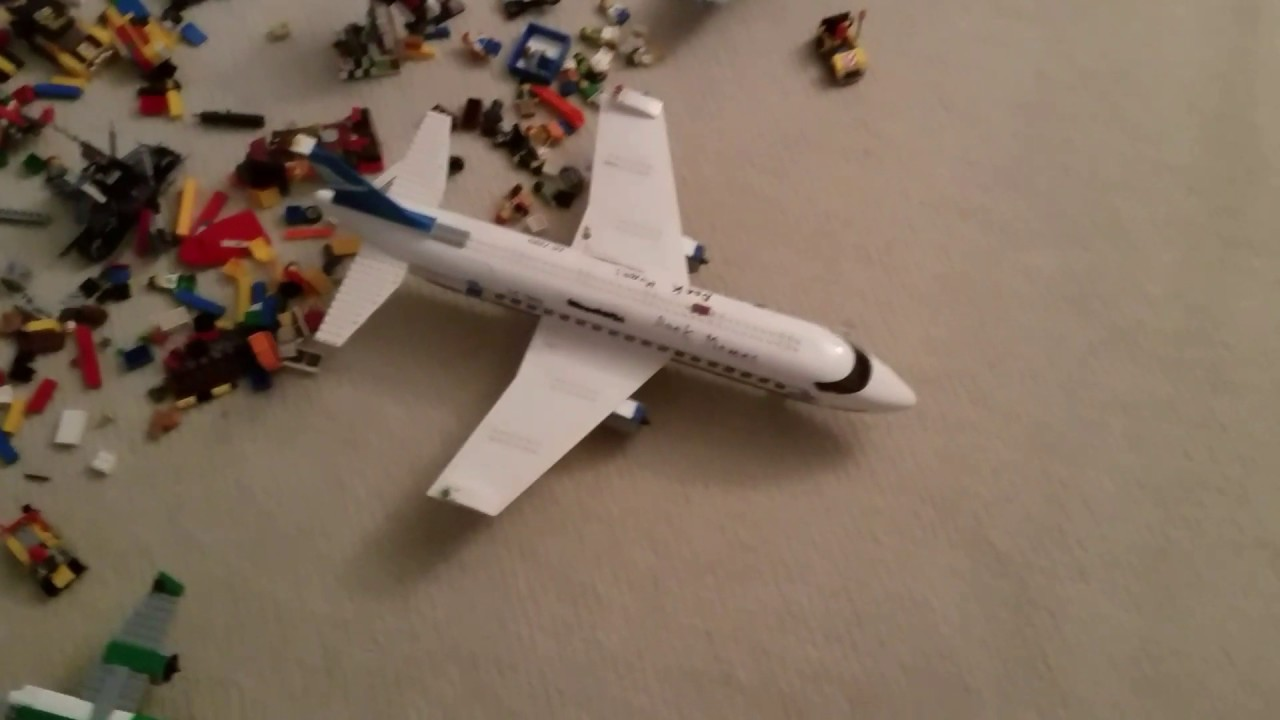 Boeing 737 600 Made From Lego Set 7893 Youtube