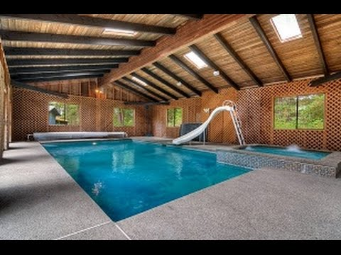 SOLD   Remodeled Rambler On Fenced 2.27 Acres With Heated Indoor Pool!