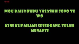 L'arc en ciel -  pieces lyrics with Indonesia Translation