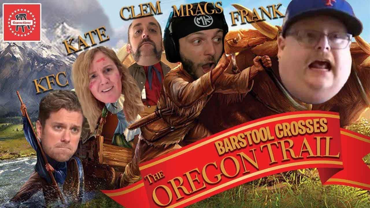 Barstool Sports Battles Broken Limbs & Disease On The Oregon Trail