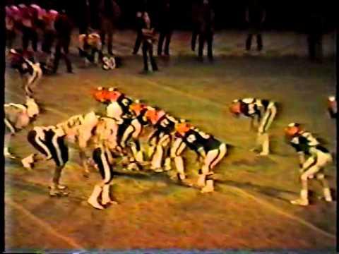 Van Buren vs West Burlington Football 1984 Part 4 of 5