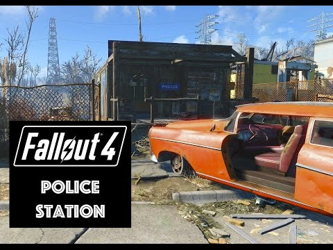 Fallout 4: Lets build A Police Station