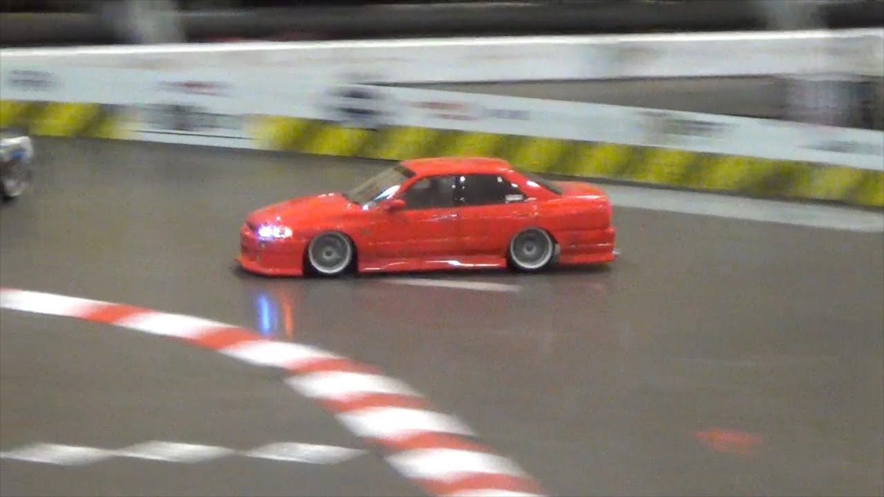 Nissan Rc Drift Cars Nissan Skyline R34 Sedan / Limo Drift R/C Drift - YouTube