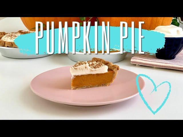 Pumpkin Pie - crostata alla zucca