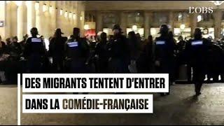 400 migrants tentent d