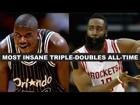 5 Craziest Triple-Doubles In NBA History