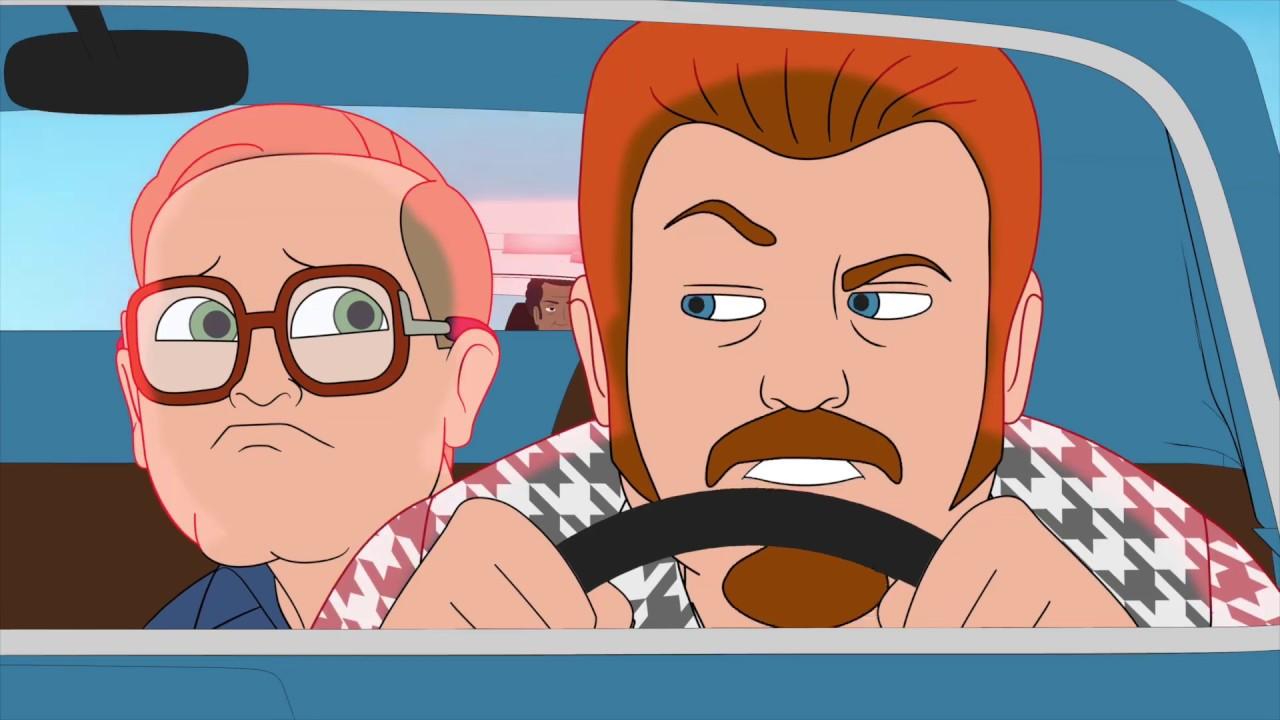 Trailer park boys the animated series the trailer