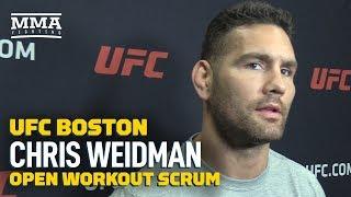 Chris Weidman Believes Jon Jones Has Looked 'Beatable' Lately - MMA Fighting