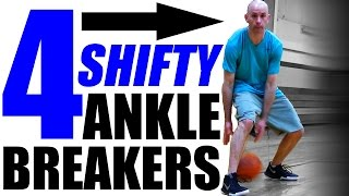 4 SHIFTY Ankle Breakers Combos: Basketball Crossover Moves!