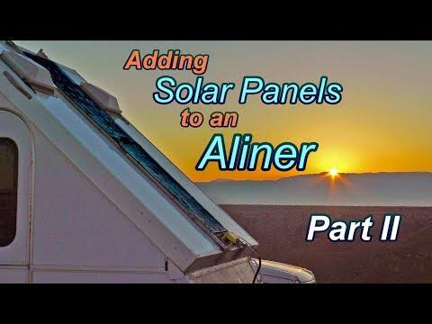 Adding Solar Panels to an Aliner PT II