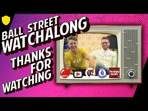 PREMIER LEAGUE FINAL DAY LIVE WATCHALONG WITH BALL STREET!