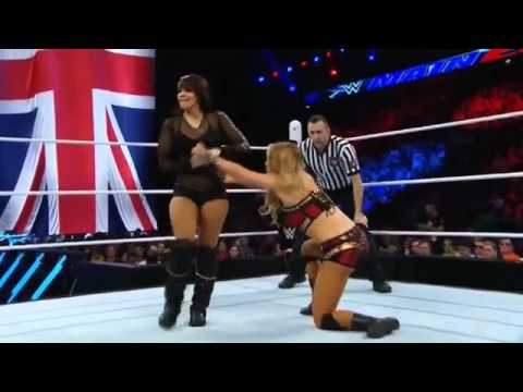 Layla Returns To WWE - vs Emma - Main Event