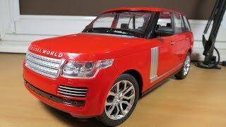 Land Rover 1:10 toy -  Update on how to make nice RC car from a toy