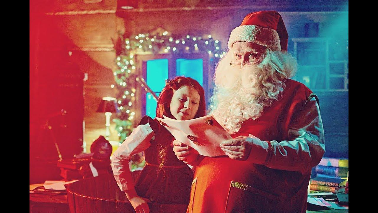 Immagini Di Natale Di Babbo Natale.Video Di Babbo Natale Albero Di Natale 2018