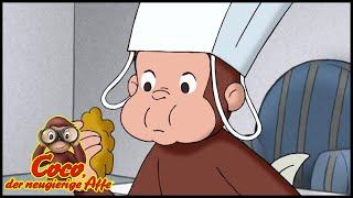 Coco der Neugierige Affe 🐵 Backen mit Coco 🐵 Cartoons für Kinder🐵 Coco der Affe Ganze Folgen
