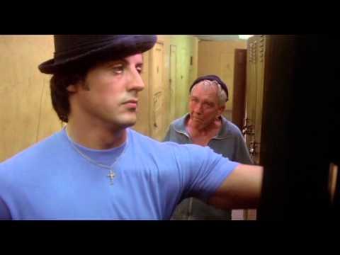 Rocky II  Mickey Yells at Rocky 1979