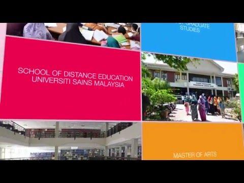Postgraduate Studies at School of Distance Education, USM