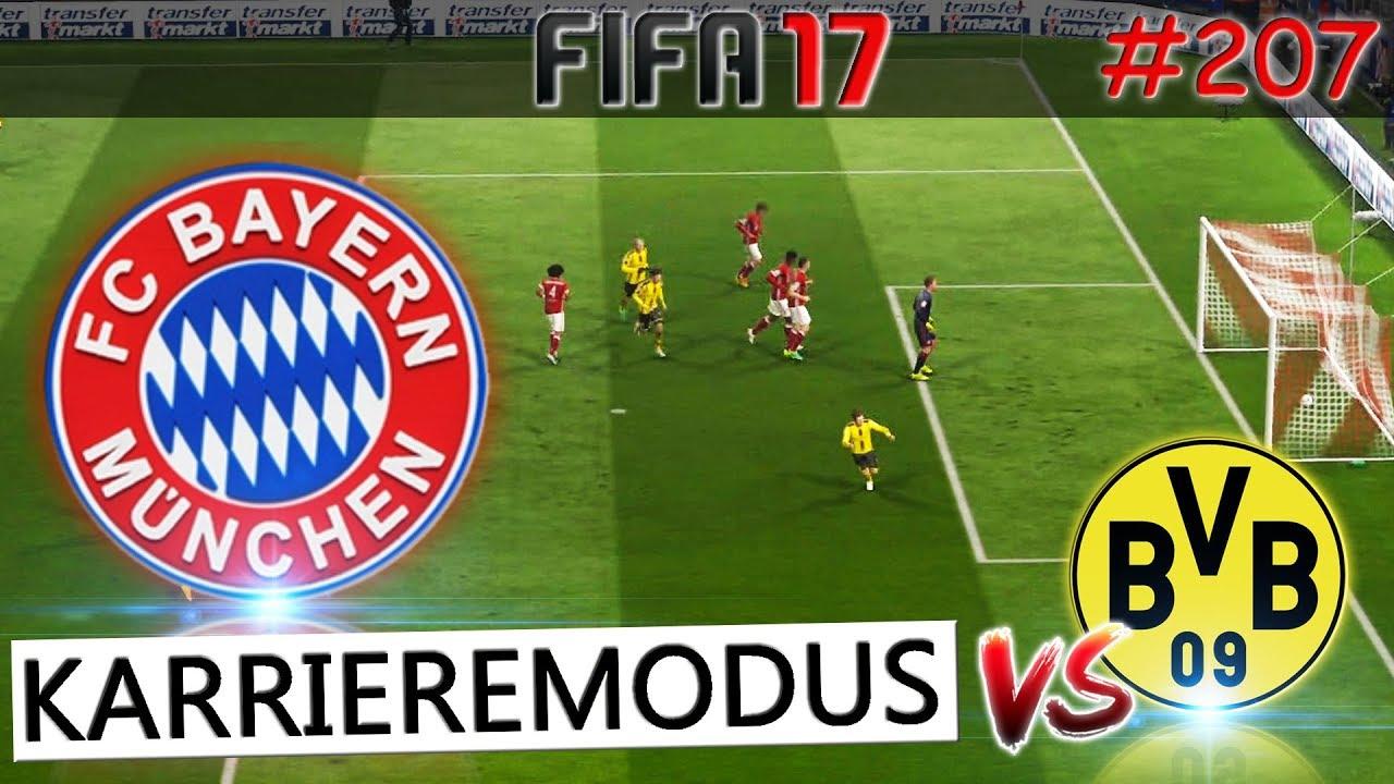 FC Bayern vs Borussia Dortmund (Fifa 17 Karrieremodus #207 ...