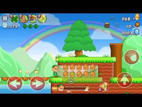 Lep's World - Jumping Game (by nerByte GmbH ) IOS Gameplay [HD]