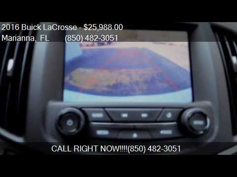 2016 Buick LaCrosse Leather 4dr Sedan for sale in Marianna,