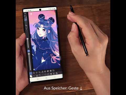 Kreativer und produktiver mit den S Pen Aktionen von Samsung Galaxy für CLIP STUDIO PAINT!