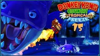 Donkey Kong Country: Tropical Freeze #15 - Prehistoryczne morskie potwory i złe mackorzenie
