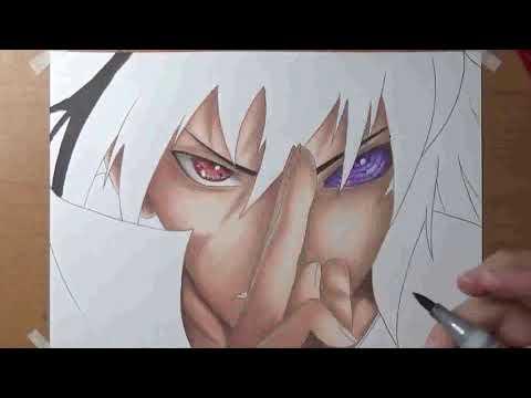 Desenho do Sasuke completo - Naruto Shippuden
