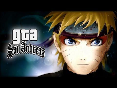 GTA San Andreas Mod - Naruto, Sasuke, Kakashi E Sakura Com Jutsus! 🎮