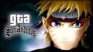 GTA San Andreas Mod - Naruto, Sasuke, Kakashi e Sakura com Jutsus!