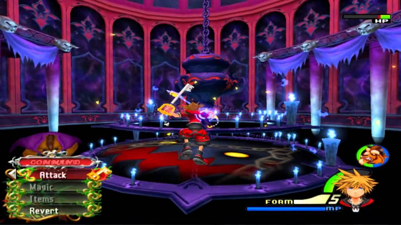 Kingdom hearts 2 Final mix Level 1 run. NO MAGIC, VALOR FORM ONLY ...