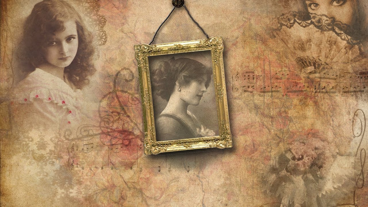 старинные фотографии с рамками колин