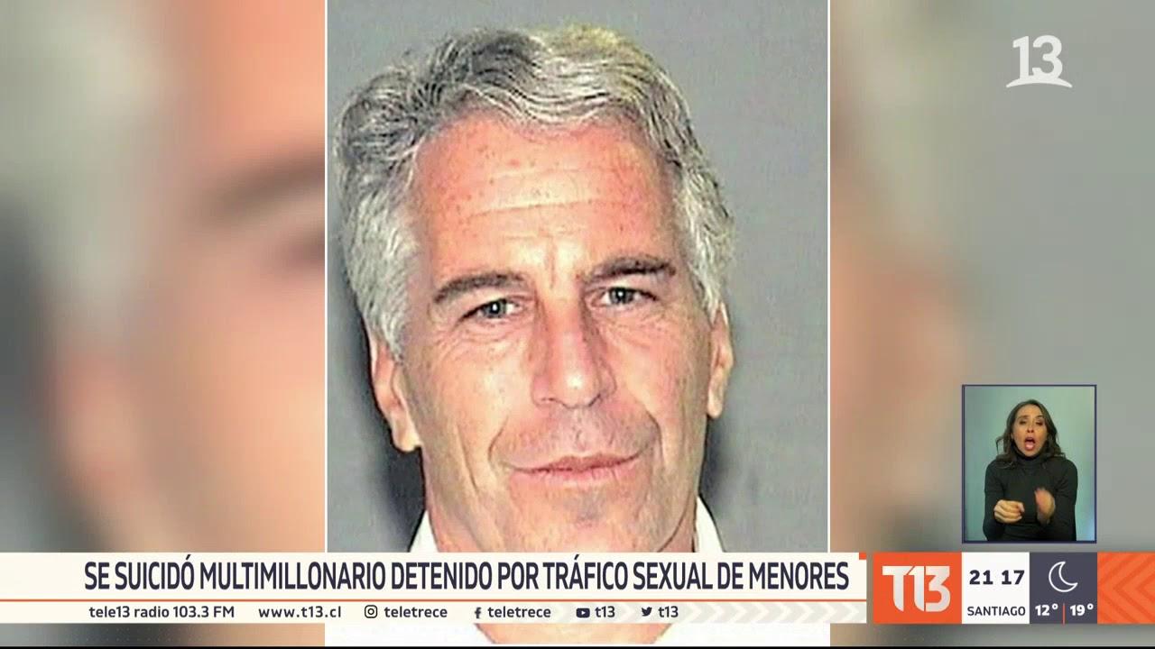 Impacto por suicidio de multimillonario Jeffrey Epstein, acusado por tráfico sexual