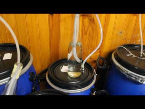 Fabrication d'un barboteur artisanale pour la fermentation